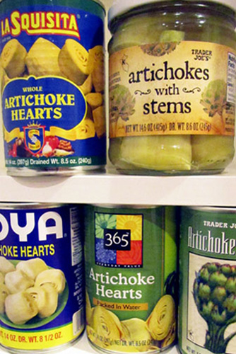 Canned and Frozen Artichokes 101