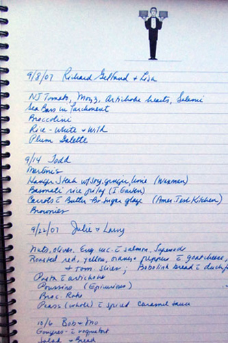 A Page From My Cooking Diary