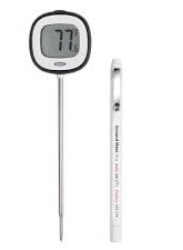 Instant Thermometer and Probe Thermometer