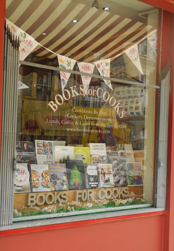 Books For Cooks in London's Notting Hill