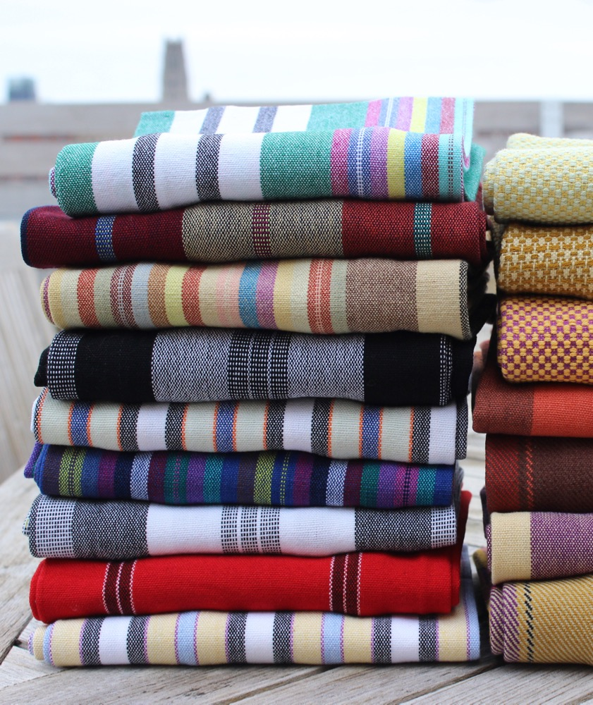 A Selection of Striped Kitchen Towels