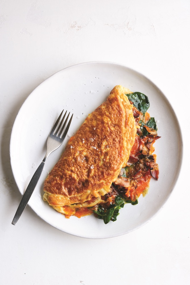 Pop's Double-Stuffed Double-Fluffed American Omelet